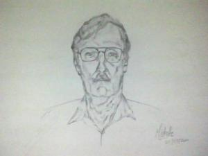 MF Burbaugh Drawing