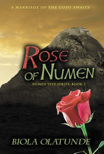 Rose of Numen front cover
