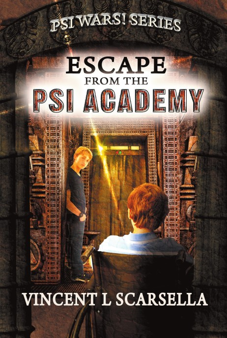 Psi Academy Escape front cover