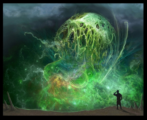 Lovecraftian game art